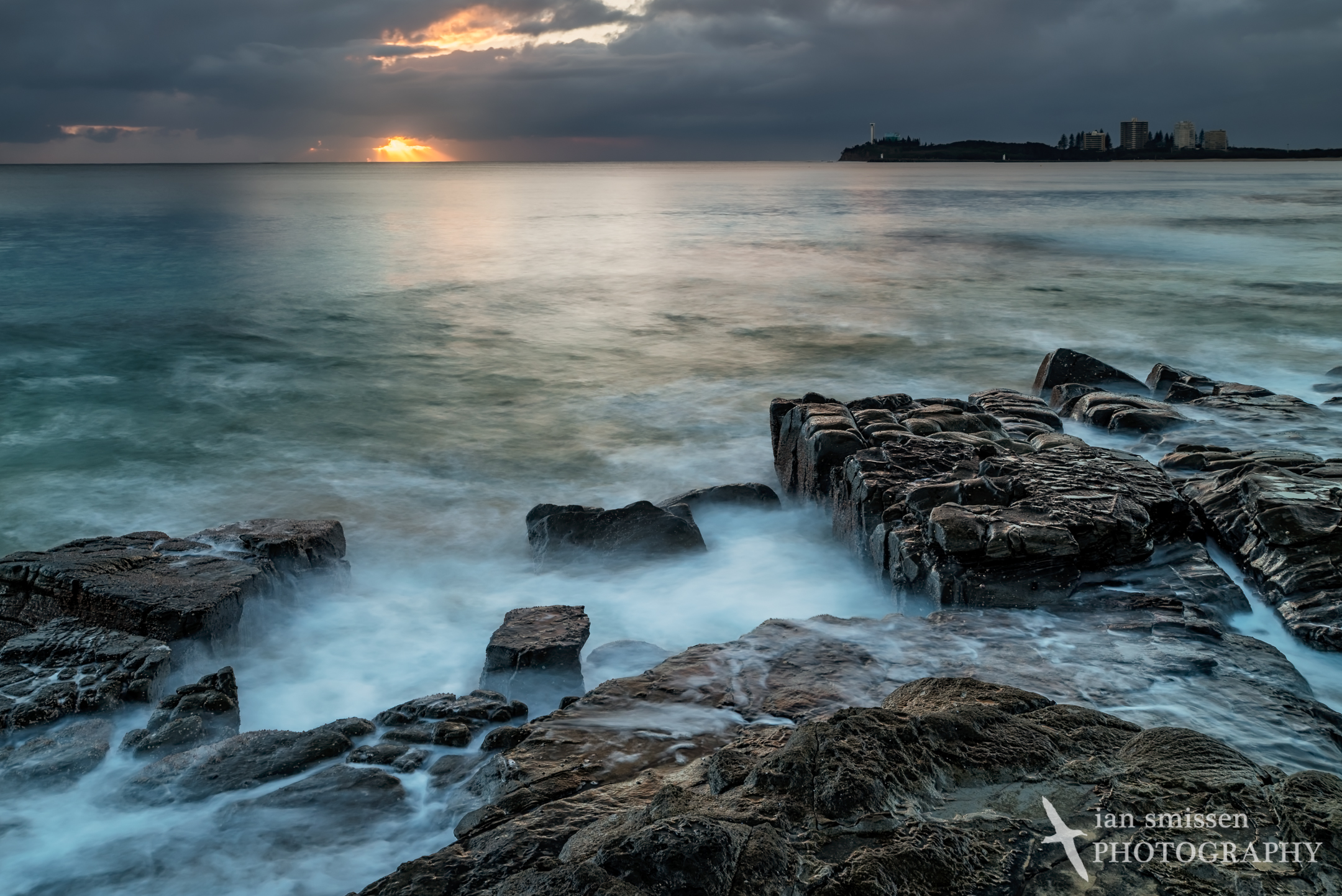 Sunrise at Mooloolaba Beach