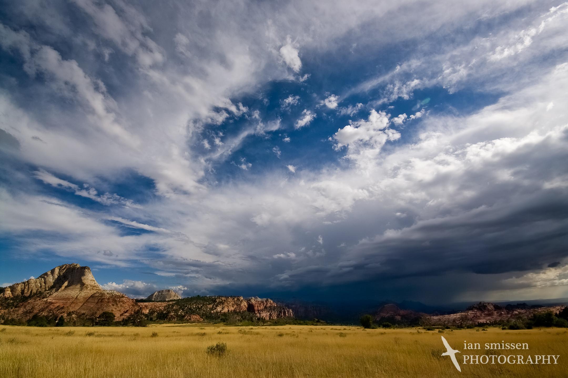 Storm over Zion