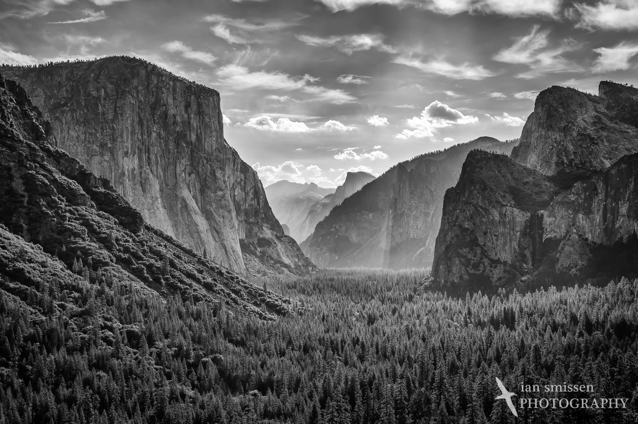 Yosemite Valley from Inspiration Point
