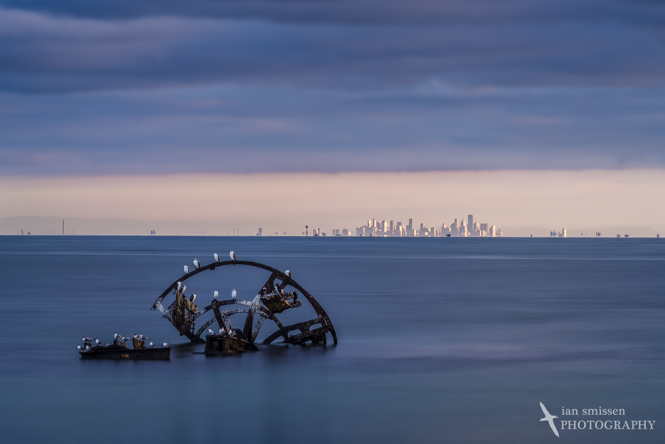 ISO 100, 200mm, 13 seconds at f/16, circular polariser +3-stop ND filters