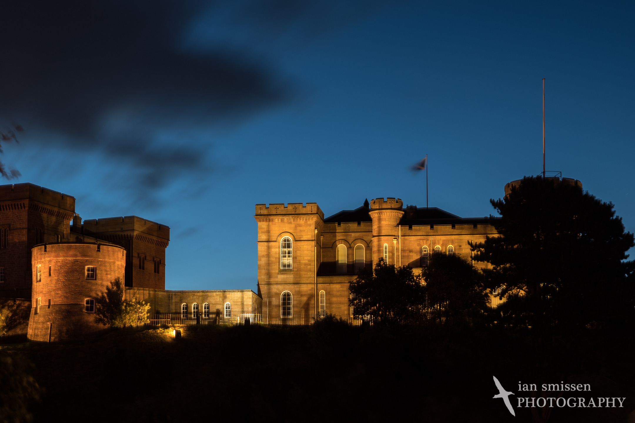 Early morning, Inverness Castle