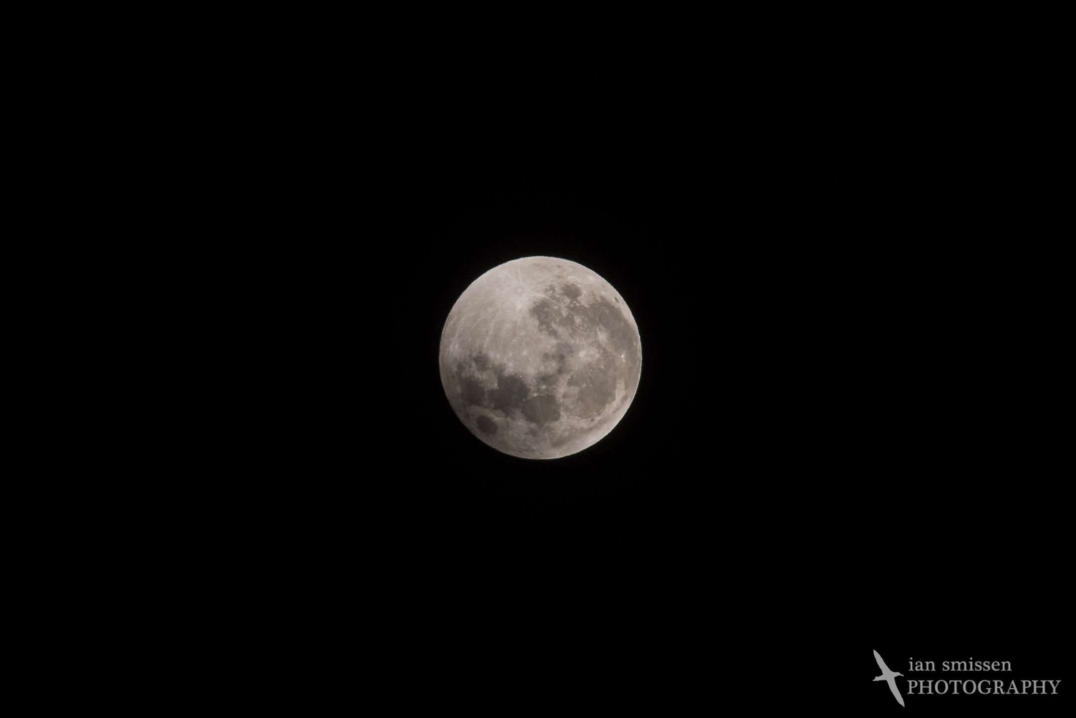 Super Full Moon (after eclipse)
