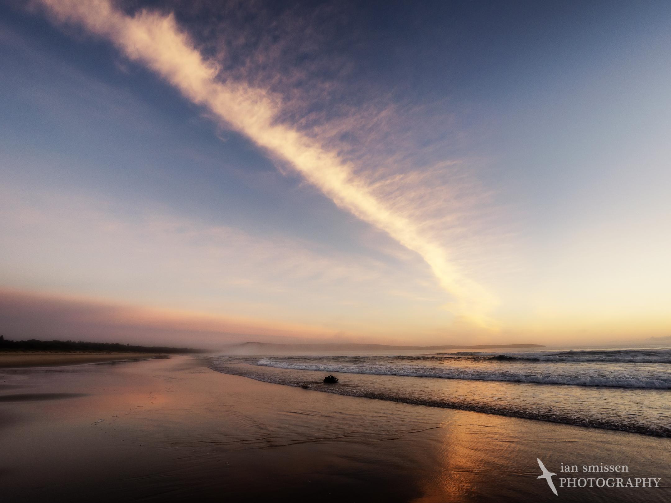 Sunrise at Pambula Beach