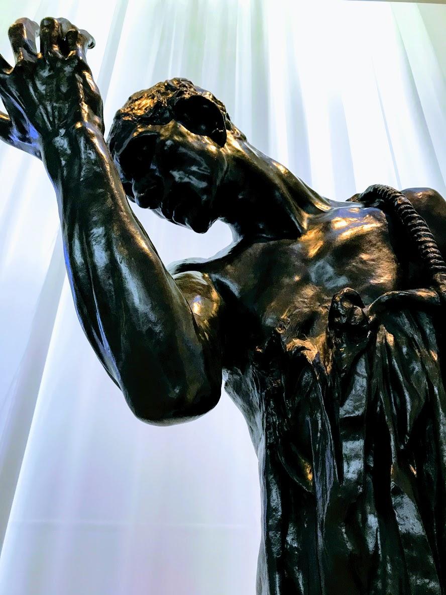 Rodin sculpture, NC Museum of Art
