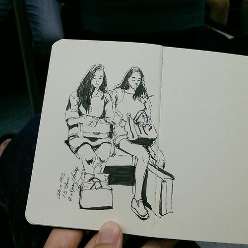 Beauty on SMRT Train