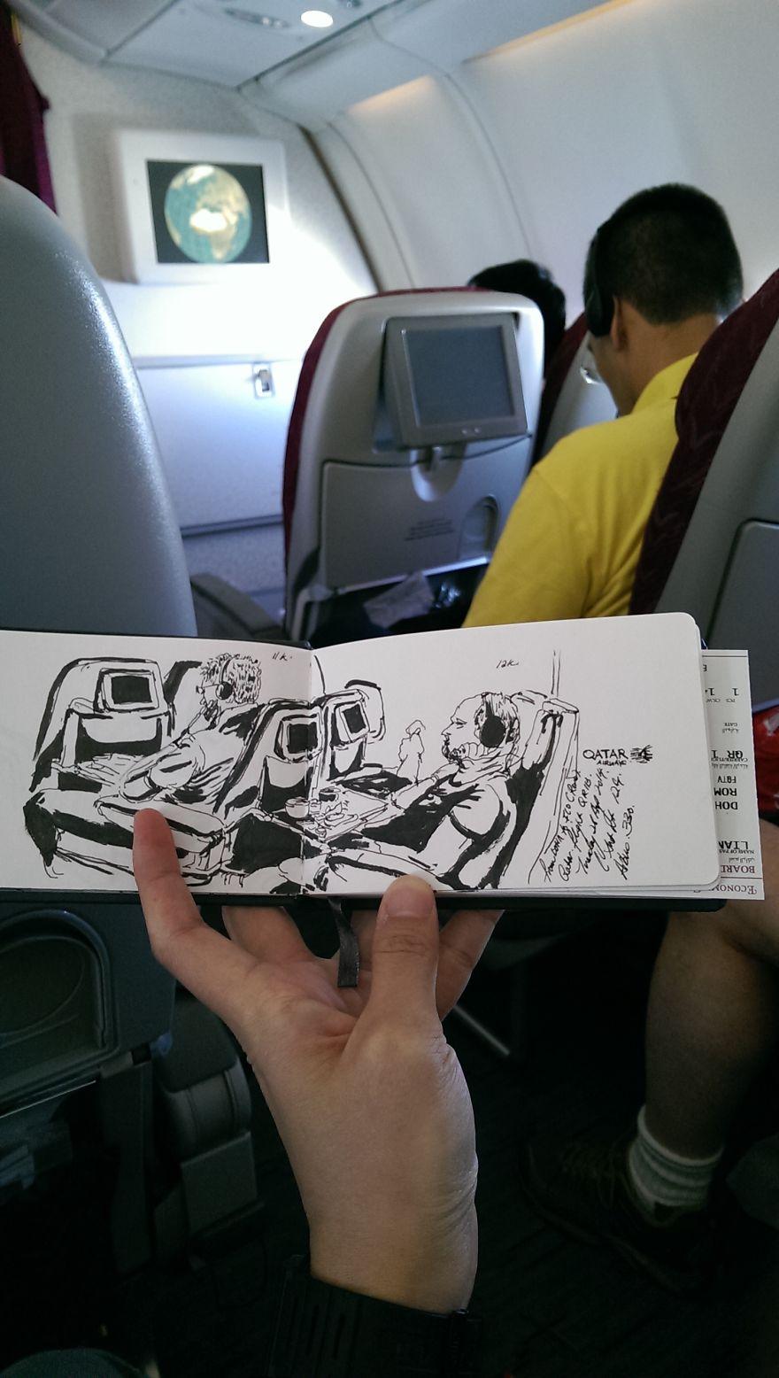 Flying Qatar