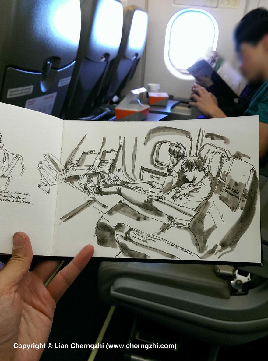 Flying on Drukair