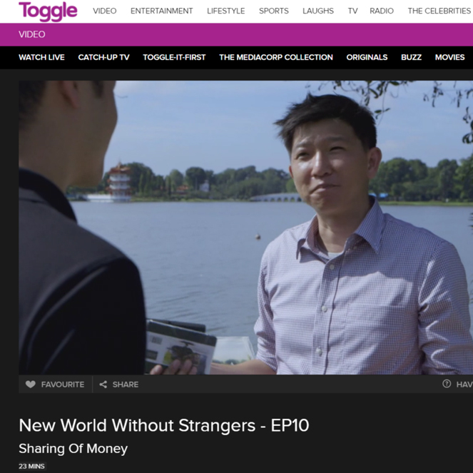 The Perfect Sketchbook on Channel News Asia's documentary New World Without Strangers