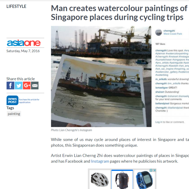 Watercolor Landscapes on Asiaone.com