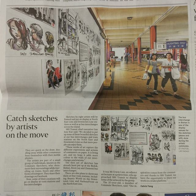 We were in The Straits Time. Zao Bao, The New Paper and even Channel News Asia