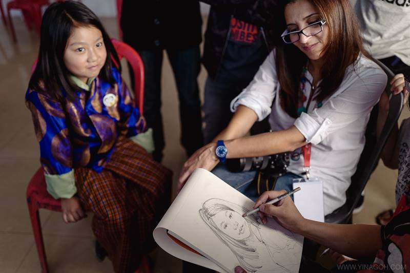Sketch Bhutan and learn about its unique people and culture