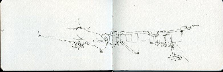 Early flight to Hong Kong via Flyscoot