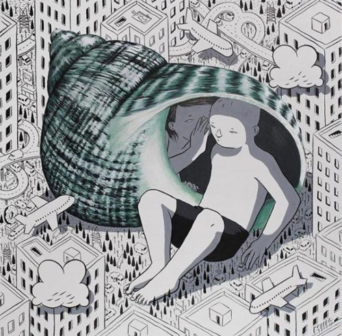 MILLO  | Eavesdrop (Sold), 2018
