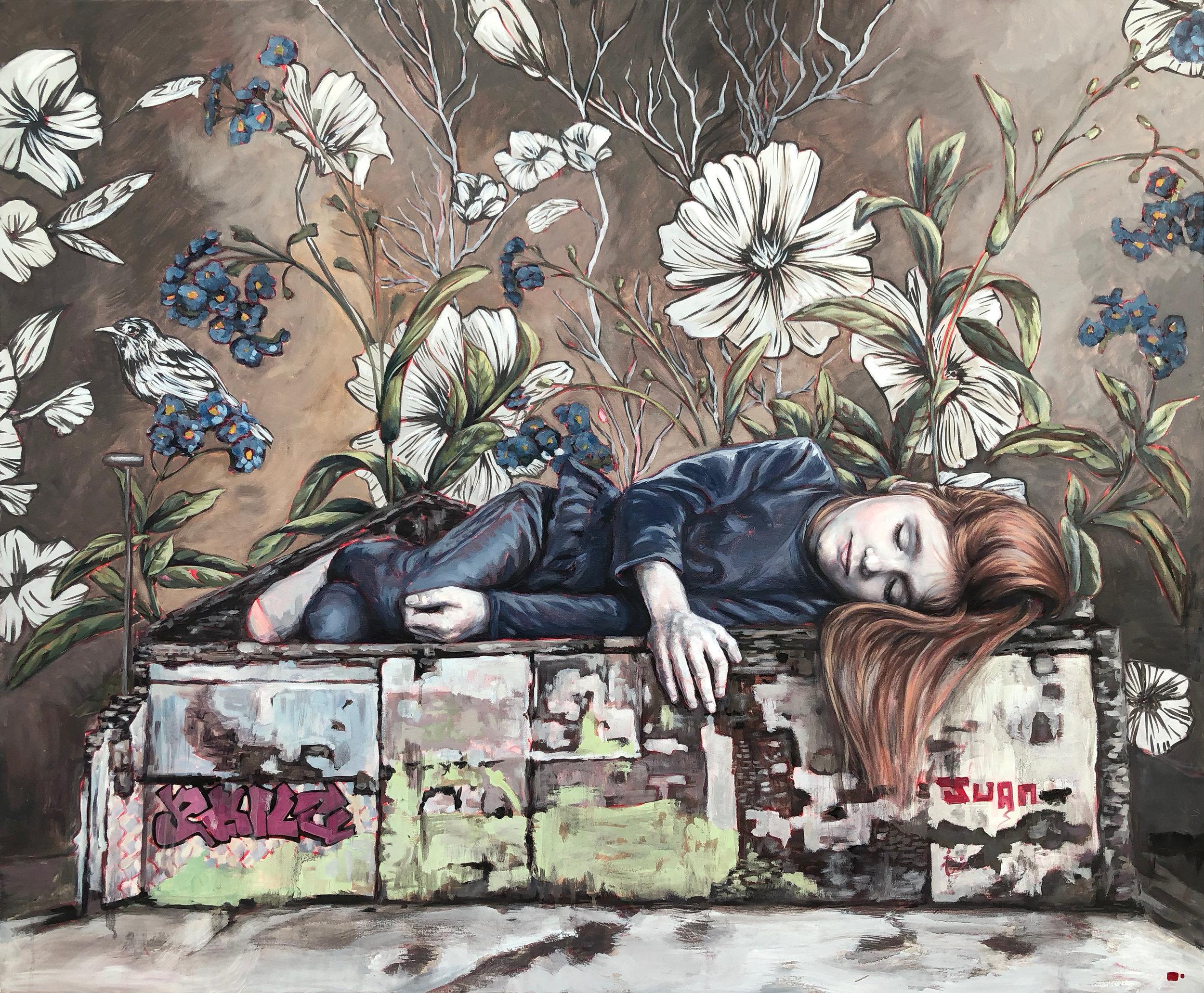 "(SOLD) Lula Goce - ""Sleeper I"", 2018"