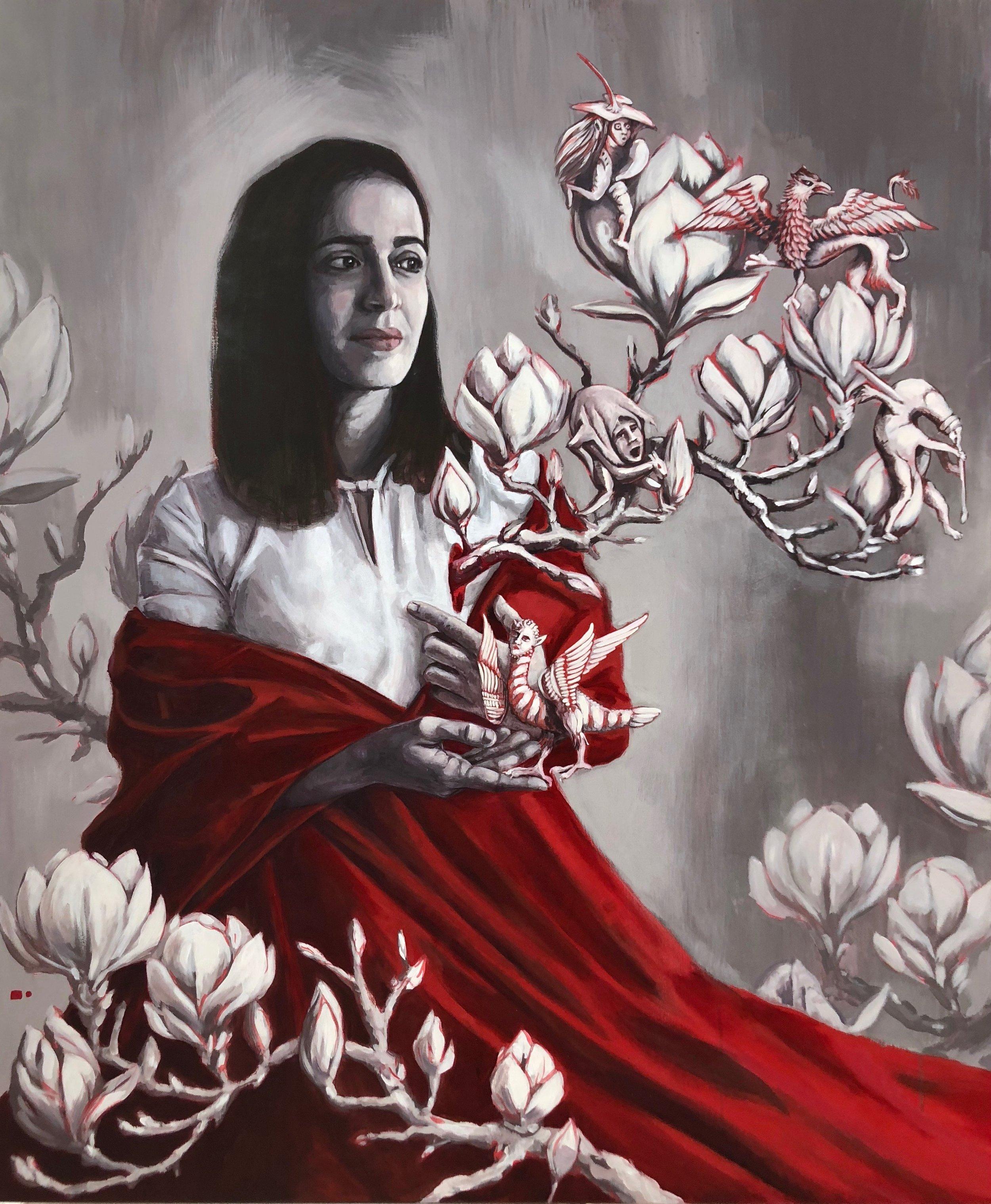 """Lula Goce - """"Heart Trees"""", 2018"""
