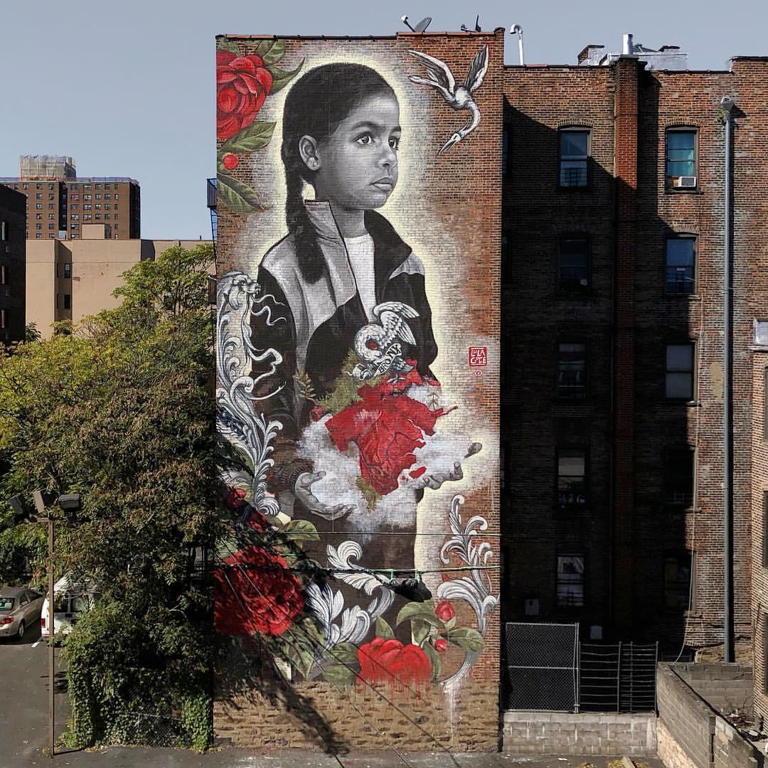 "Lula Goce - Mural ""Coral"""