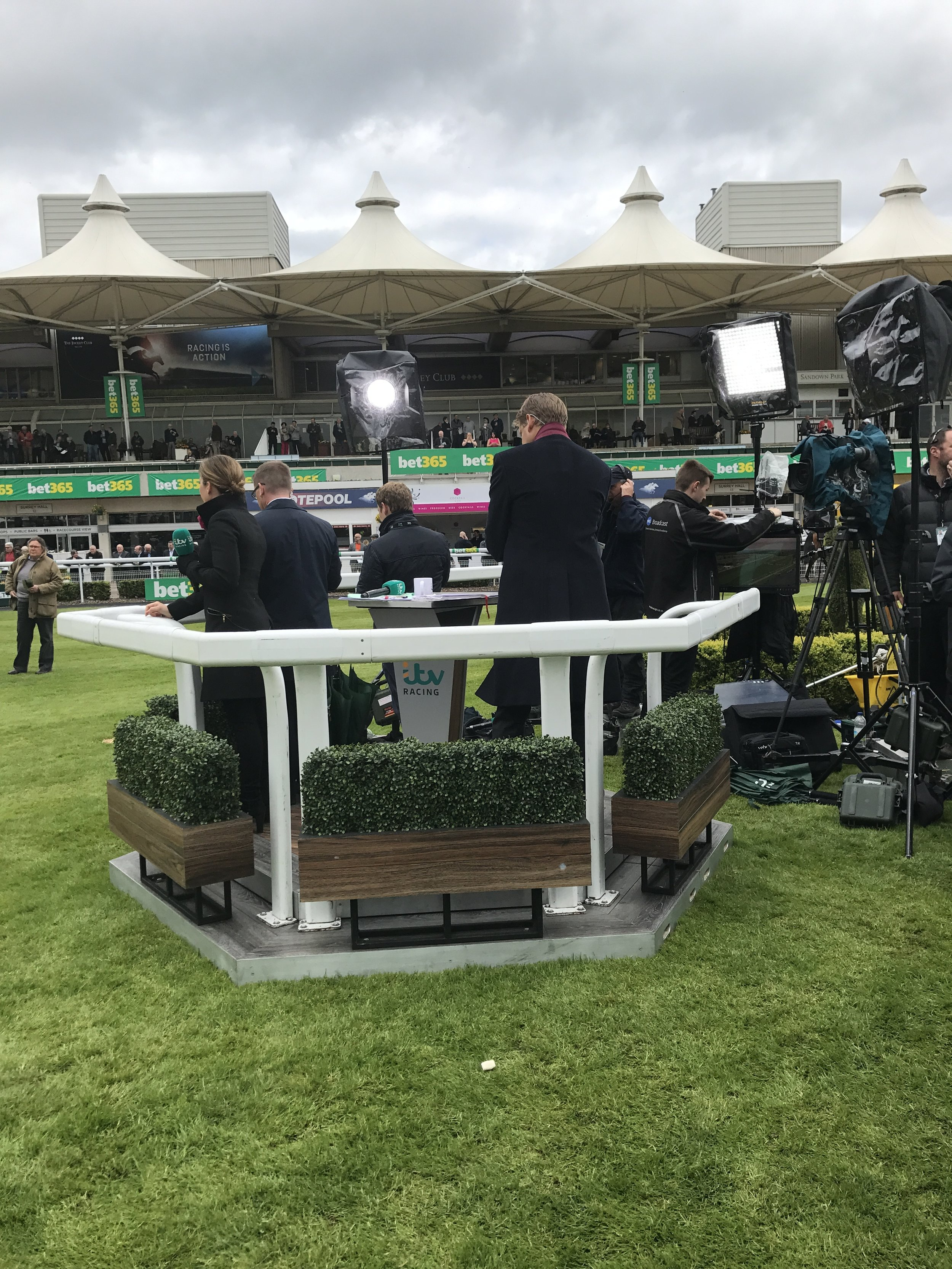 Behind the scences of ITV Racing