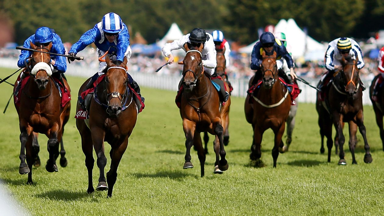 Battaash trained by Charles Hills won this race last year