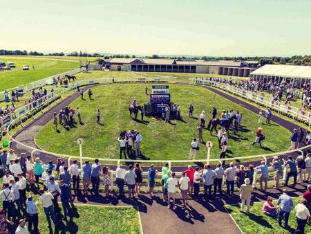 Bath Racecourse Parade Ring