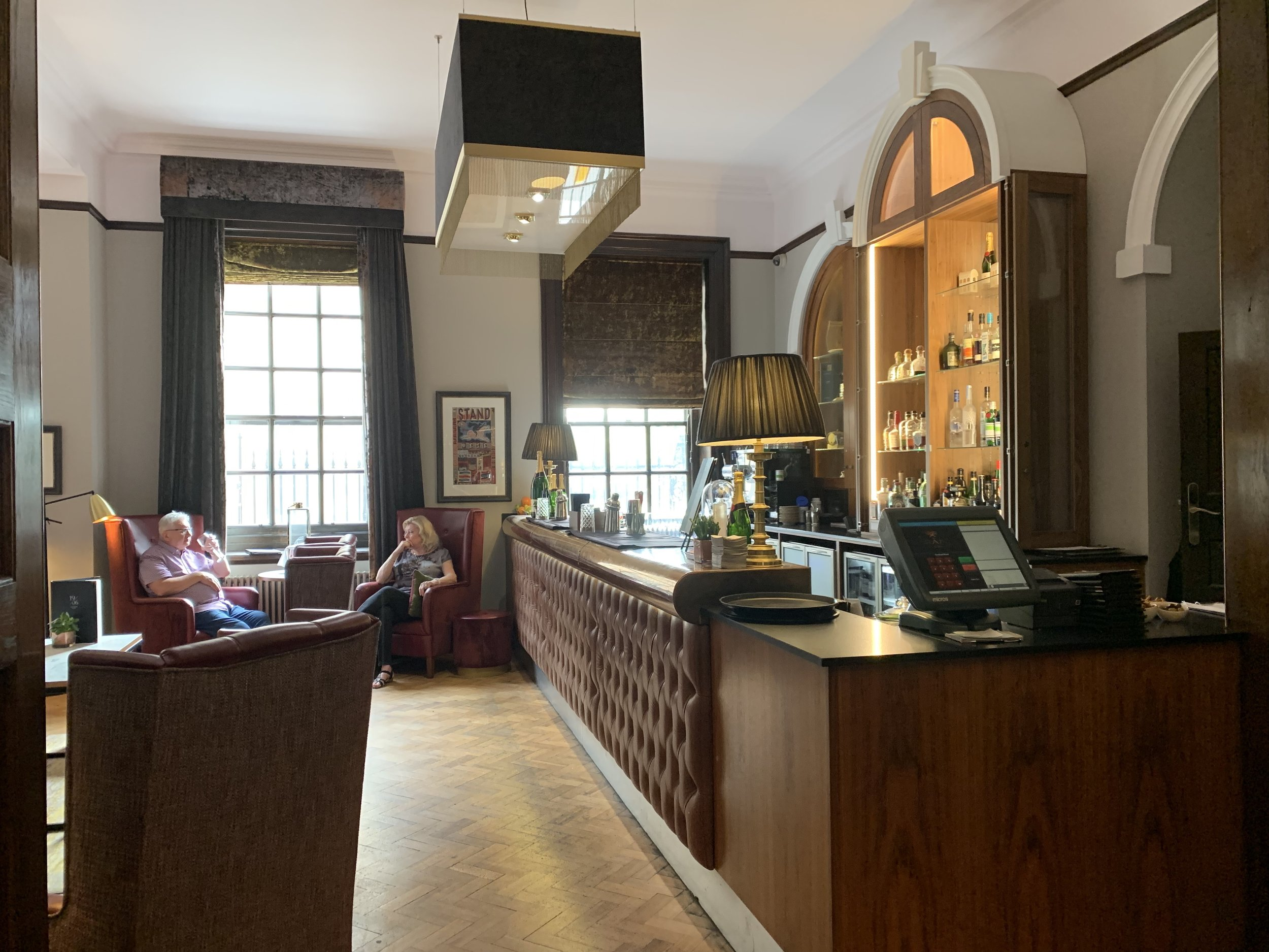 The bar in The Grand