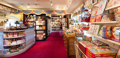 Pollocks Toy Shop - Benjamin Pollock's Toyshop of Covent Garden is one of the few toy shops in the West End of London. We stay true to the original aesthetic of our namesake and the tenets of the R.L.Stevenson quote. 'If you love art, folly or the bright eyes of children, speed to Pollock's'. We now produce our own range of theatres and paper models designed by contemporary artists.Books, small comics, small toys, and Toy Theatres published by Pollocks Toyshop Covent Garden and connected artists ZEEL and Orson. New Works Launching :- Pollocks Toy Theatres including the new 'Hansel and Gretel' by Clive Hicks Jenkins, Plus the new Colouring Book of images by Simon Seddon, Plus the new ZEEL 'Denizens of Otranto' Paper Playset book.