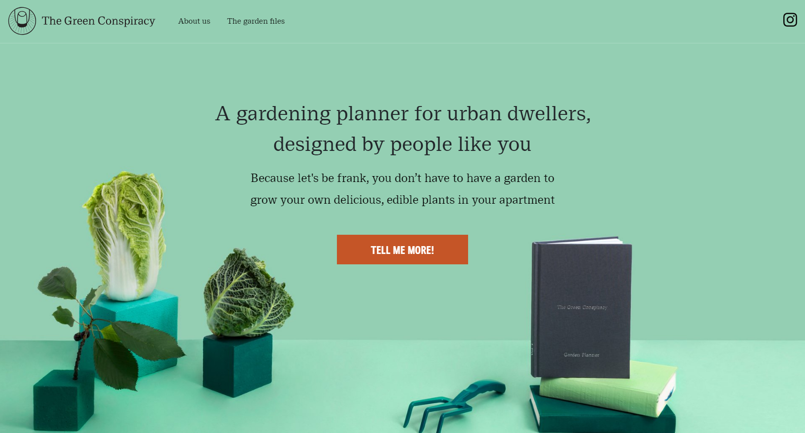 The Green Conspiracy has created a first class garden planner to help you stay organized!