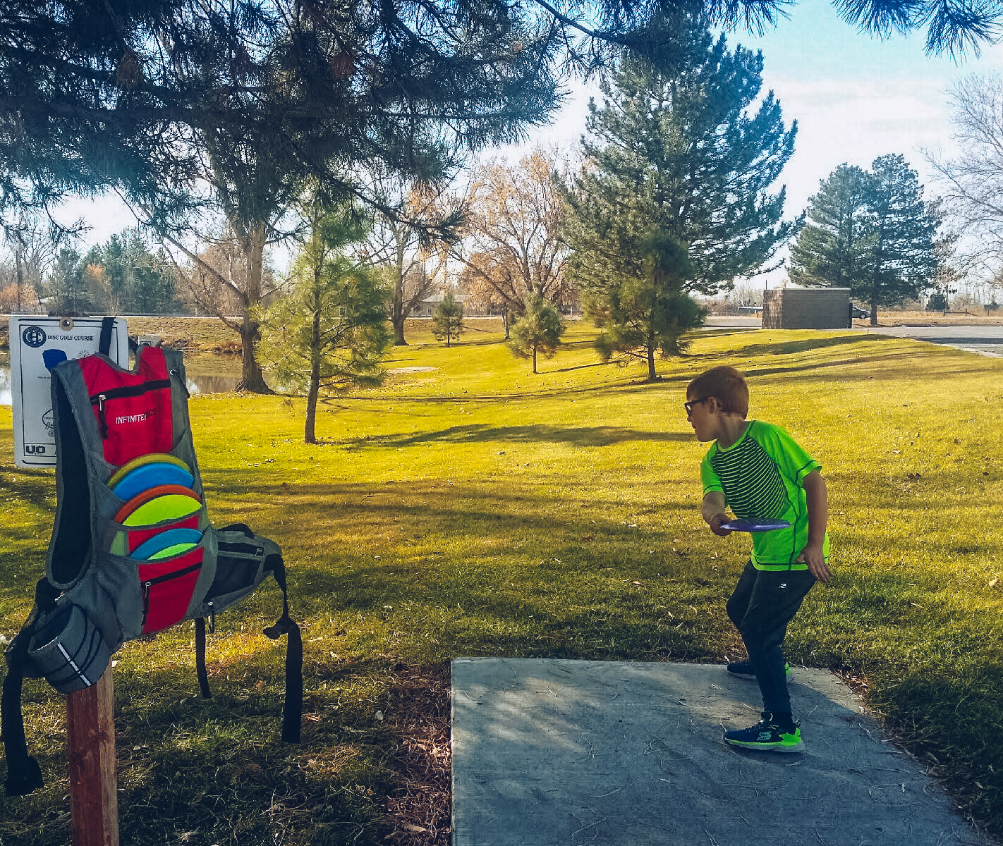 Harrisville City Park Disc Golf Course