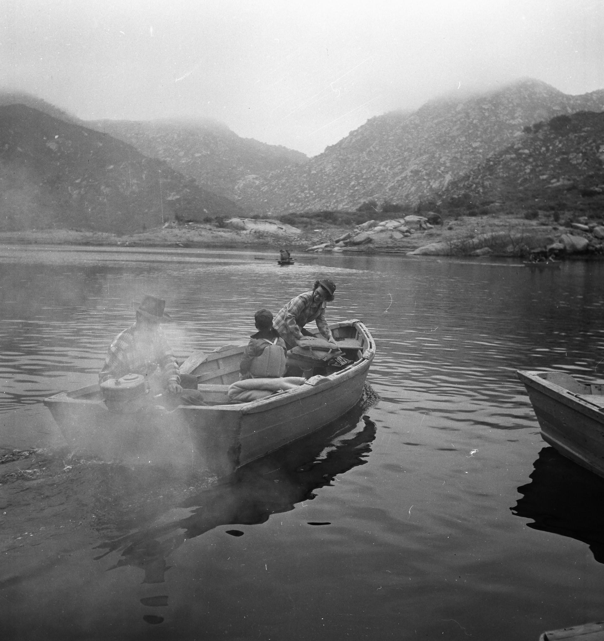 """Aplin: Fishing,"" Los Angeles County Arboretum /  flickr"