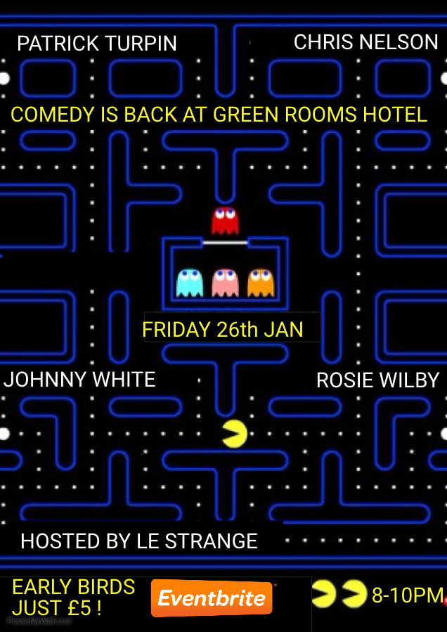 Green Rooms Hotel Comedy Club