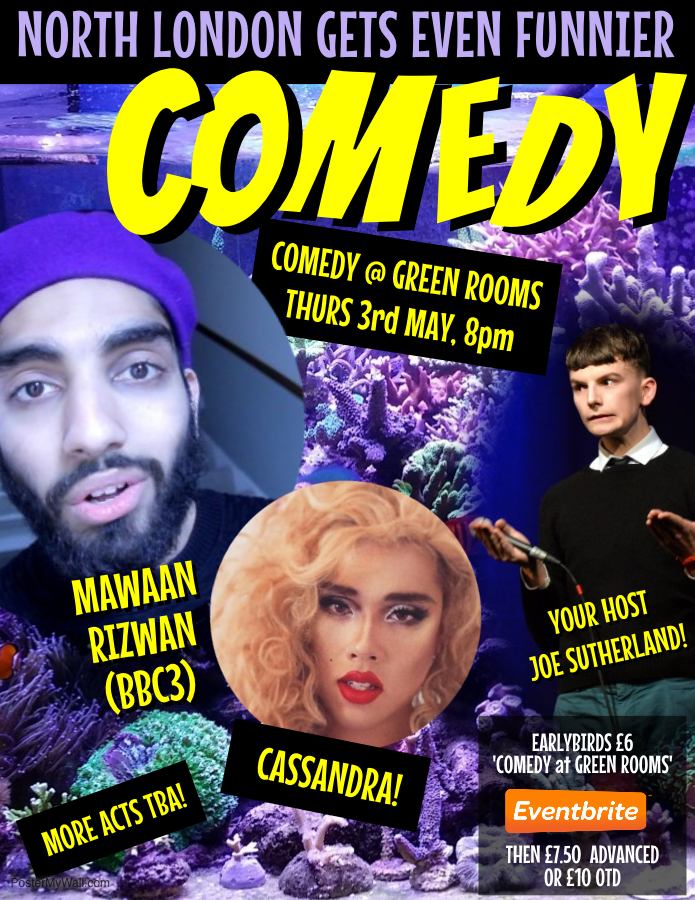Comedy Club at Green Rooms Hotel