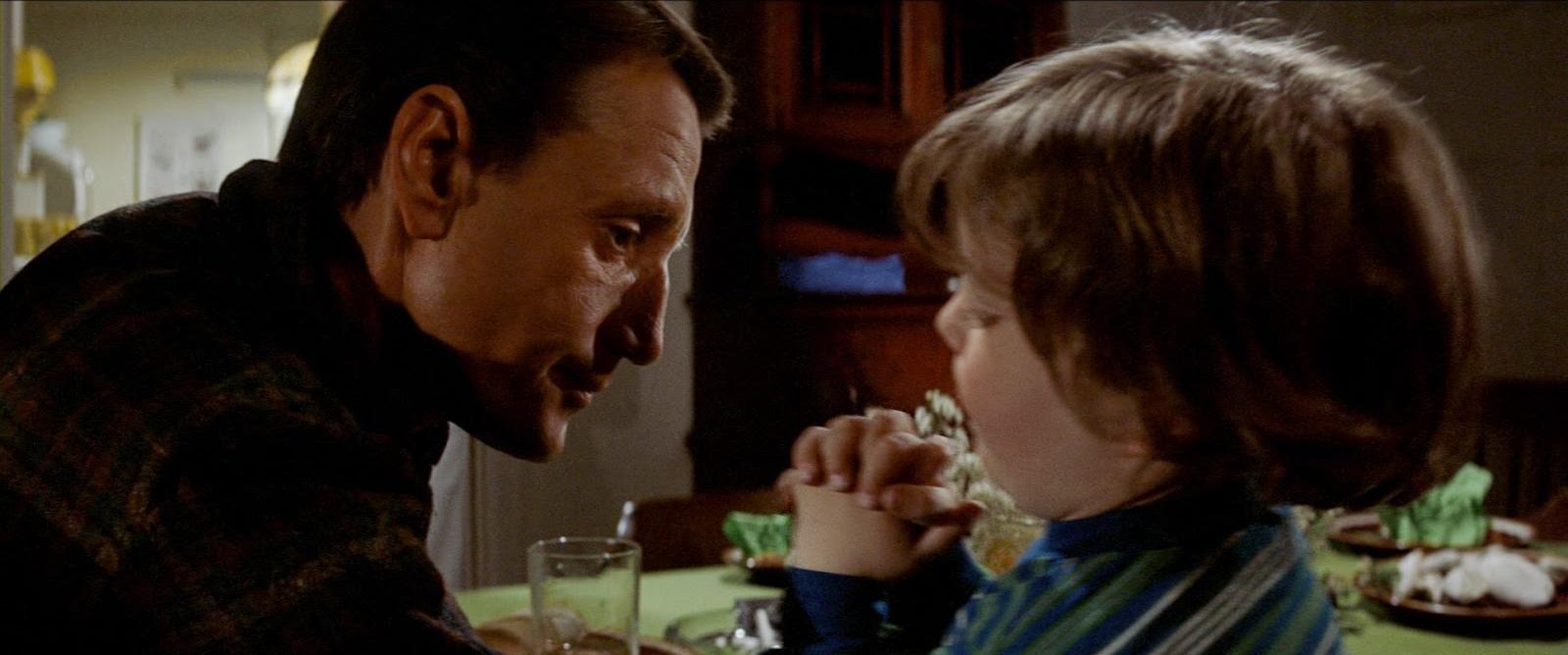 El personaje de  Tiburón  ( Jaws , Spielberg, 1975) decide actuar y enfrentarse a sus miedos con un beso.
