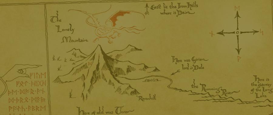 También Tolkien ofreció un buen número de rutas y sendas que recorrer.