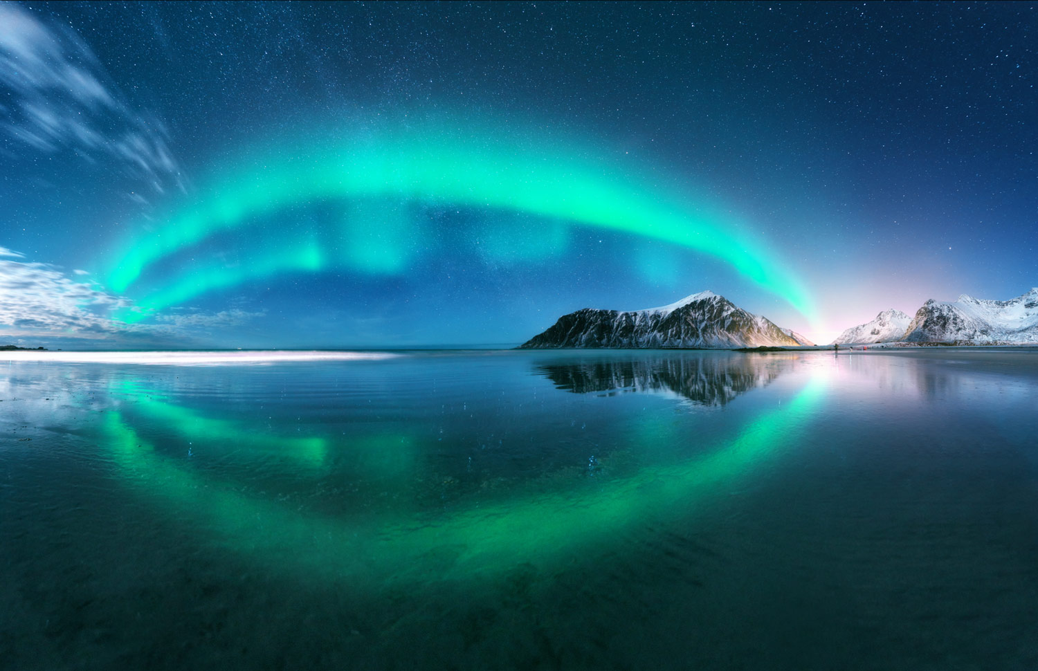 It is typically Scandinavian with    Northern Lights    AURORA