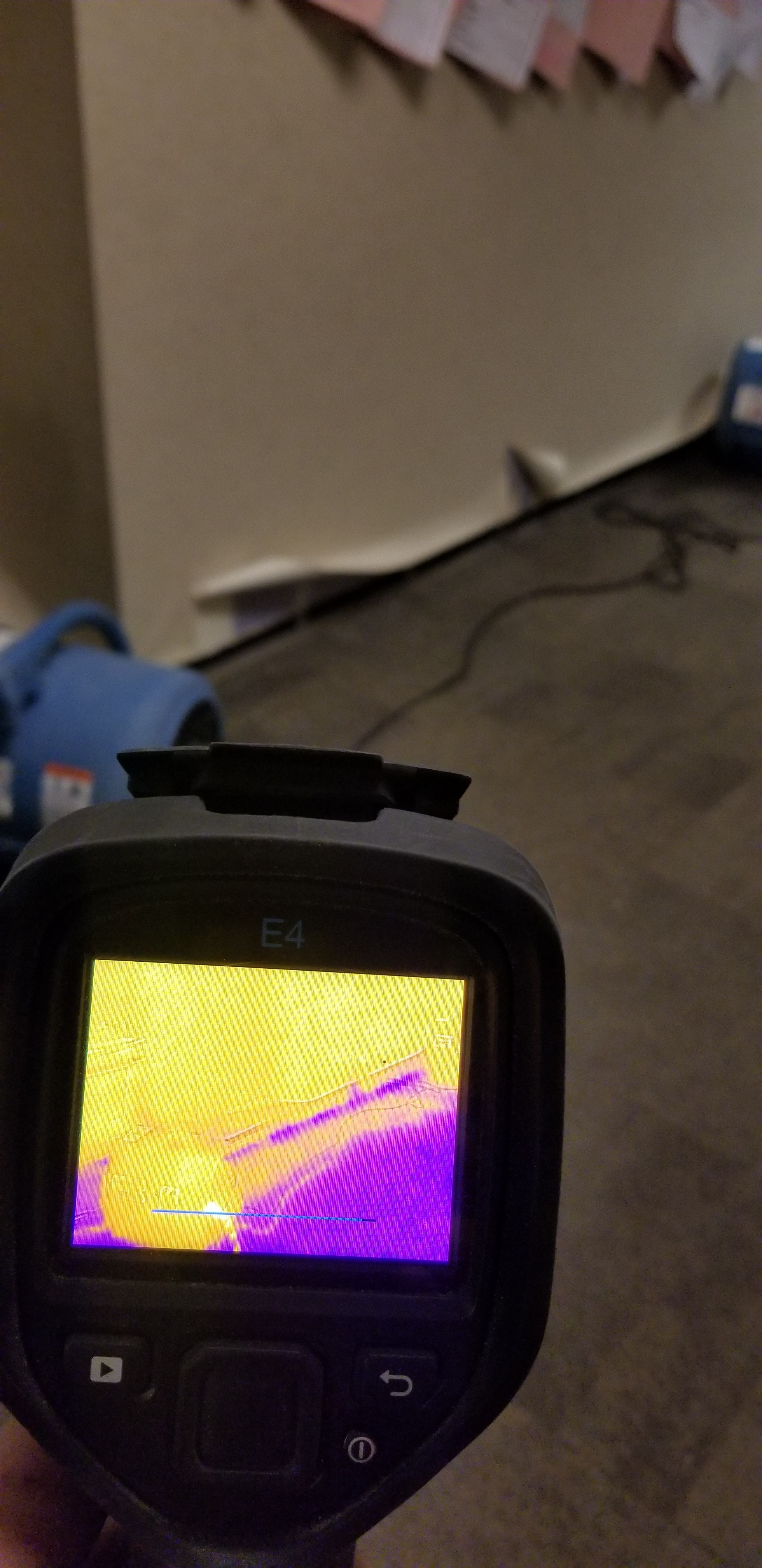 Infrared technology used to locate moisture in blue.jpg