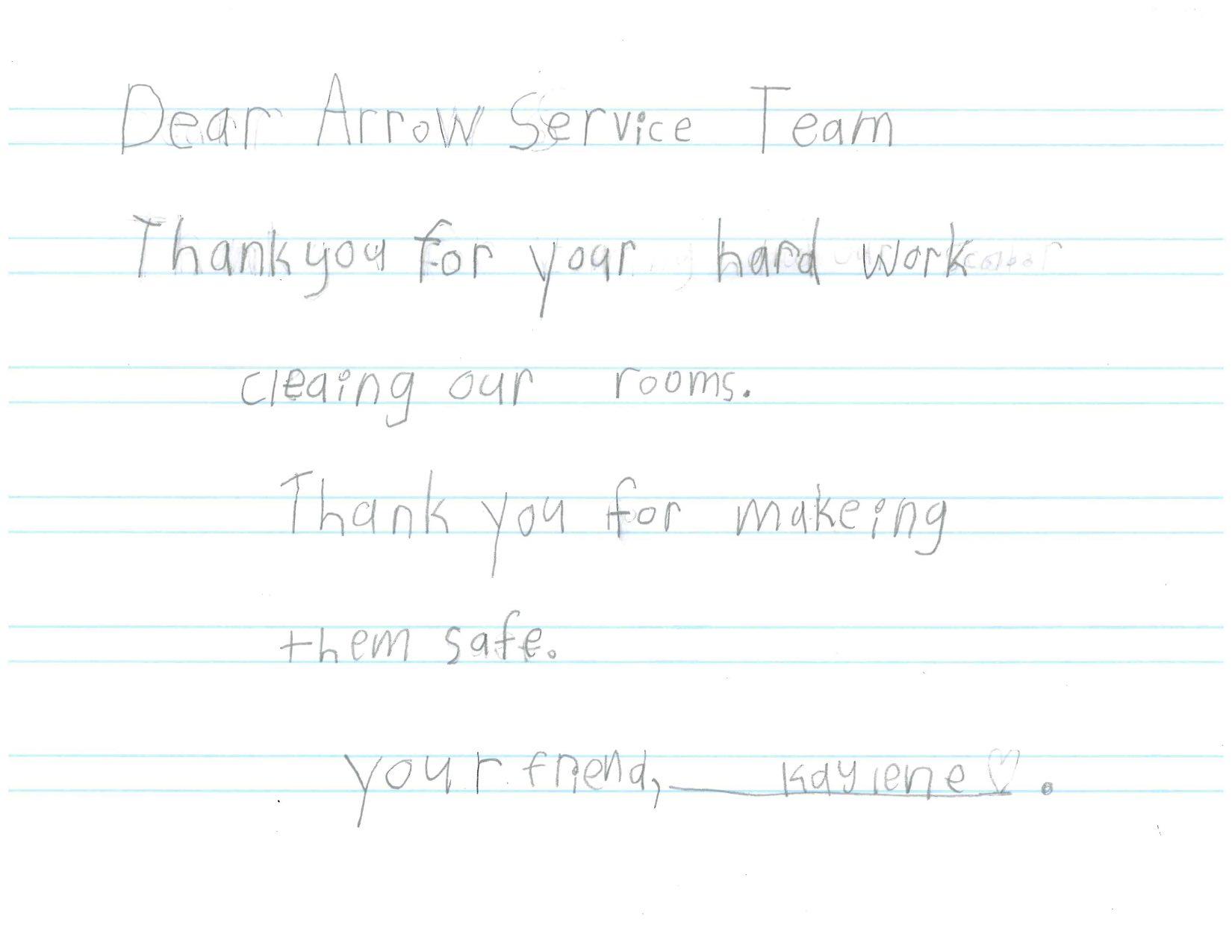 Dear Arrow Kaylene.jpg
