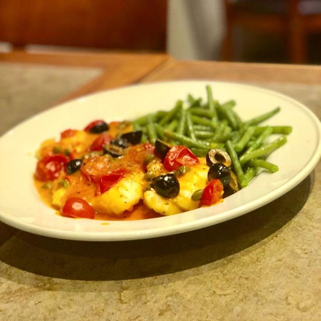This week we have some delicious new specials on the board. Fish is delivered fresh, straight from Billingsgate Market...This one is our fillet of fresh monkfish, pan fried in a tomato sauce, with black olives and capers  #sw11 #battersea #battersearestaurants #italian #foodblogger #foodlover #londonrestaurant #billingsgatemarket #catchoftheday #fish #instafood #foodporn #londonfoodblogger #italia #restaurant #italianfood