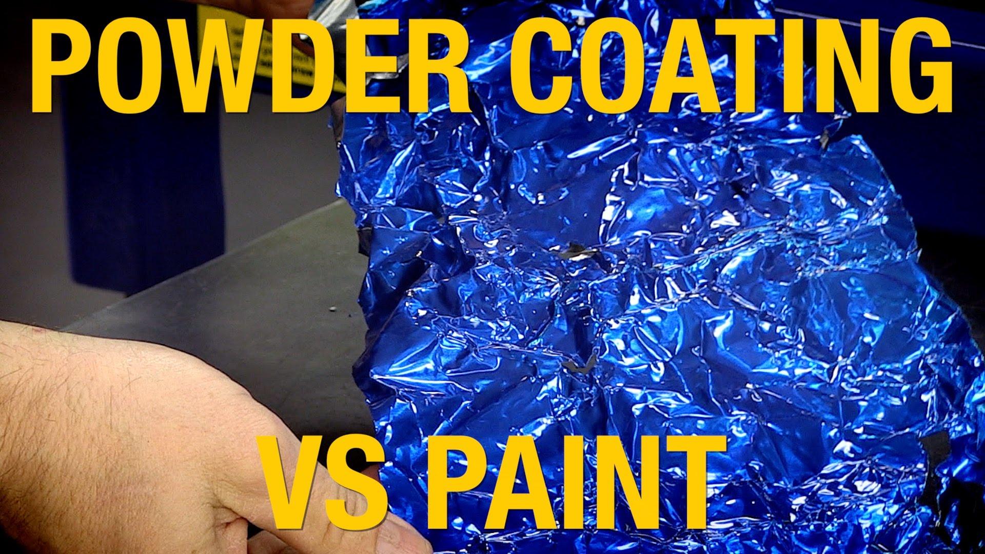 Powder Coat vs Paint