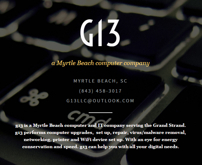 g13 computers