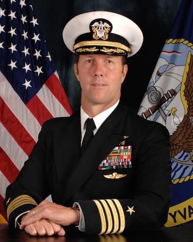 Captain Tom Chaby, Official Portrait