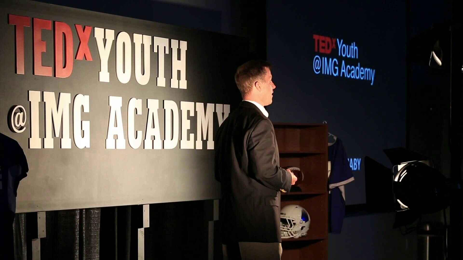 Tom's TEDx Youth Talk at IMG Academy