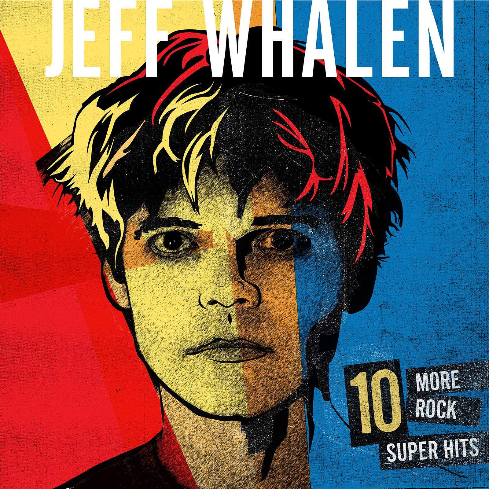 "Jeff Whalen / 10 More Rock Super Hits VINYL - The album Bun E Carlos called ""power pop perfection"" - includes complete album lyrics insert (these lyrics are not found in the Jeff Whalen lyric book) $18 + S&H"