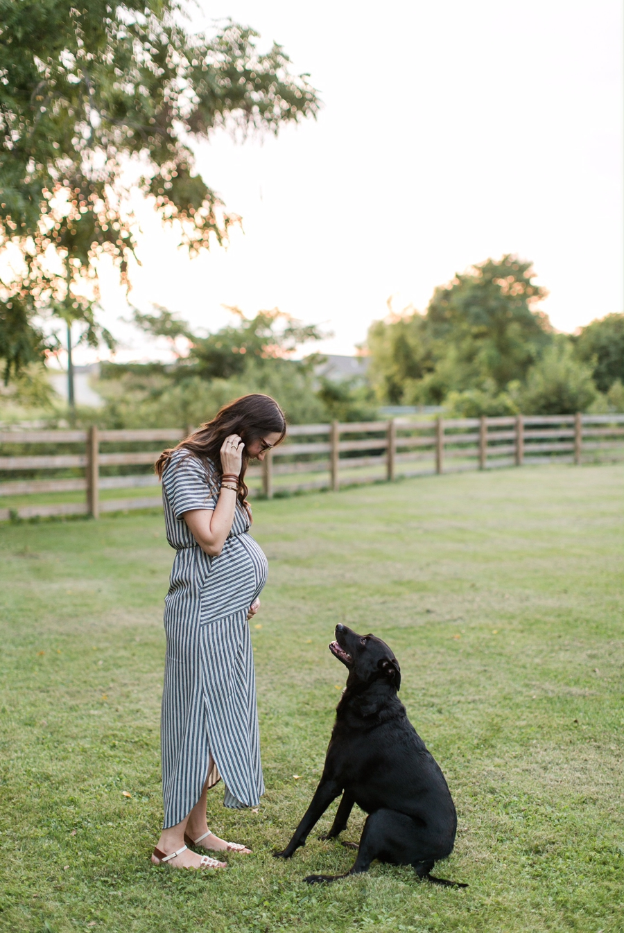 Photo from our maternity session with KariMe Photography at 31 weeks. Can't wait to share all of these photos with you! Scout has no idea what she's in for.
