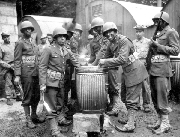 Our 1944 Chili Cookoff took place under improvised conditions, but was noted as a key morale-raiser during World War II