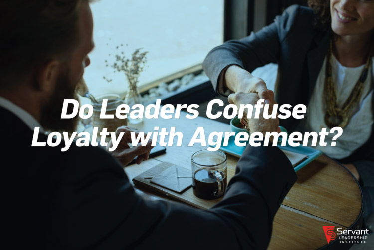 Do Leaders Confuse Loyalty with Agreement? - moneyinc.comI recently met a friend in town from the Midwest for coffee; we ended up talking about our experience on the board of a local company. Earlier in the year, I'd resigned from the board, but my friend continued to serve on it. Our discussion led to the company's CEO, who my friend said confused loyalty with agreement.