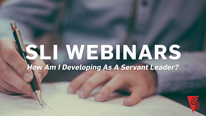 How am I Developing as a Servant Leader? - As a servant leader, are you taking time to reflect on your leadership? This webinar asks and answers some probing questions that should help you assess how you're doing in your servant leadership journey. Art Barter, SLI founder and CEO, takes you through the servant leadership development cycle, discussing relevant issues along the way.