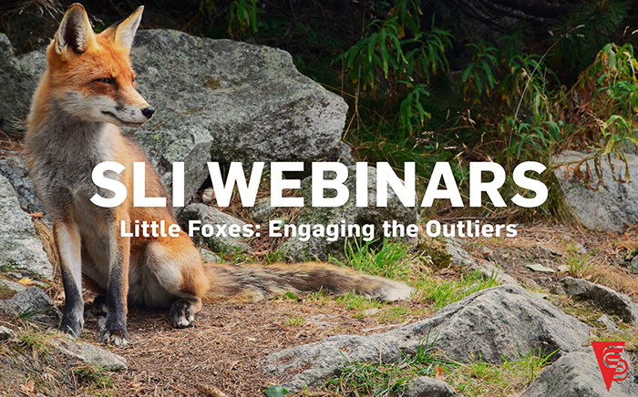 """Little Foxes: Engaging the Outliers - Do you work with individuals who seem to be on board with the practice of servant leadership but really do not support this culture change? Art Barter, SLI founder and CEO, will introduce you to """"The Little Foxes,"""" our name for those who repeatedly undermine what we are trying to accomplish as servant leaders."""