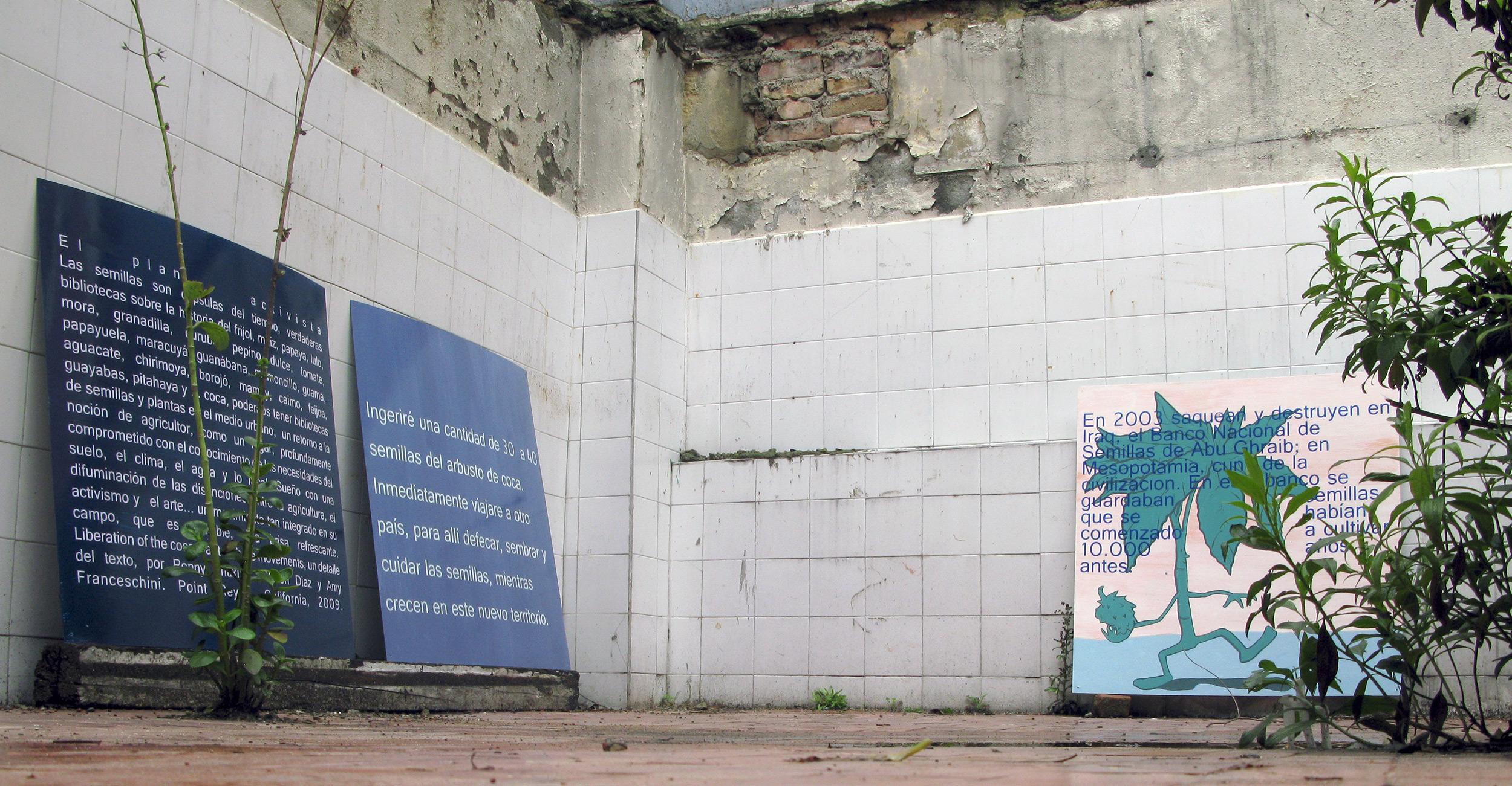 La otra bienal - Agropoética - Wilson Díaz