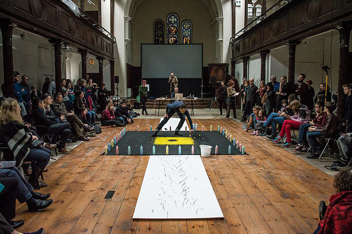 Fabrica's Community Drawing Event: Photo Credit: The Fabrica Gallery