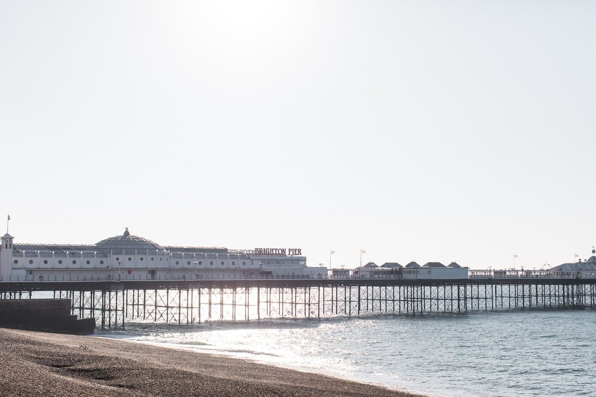 Brighton's East Pier: Photo Credit: Emma Croman.