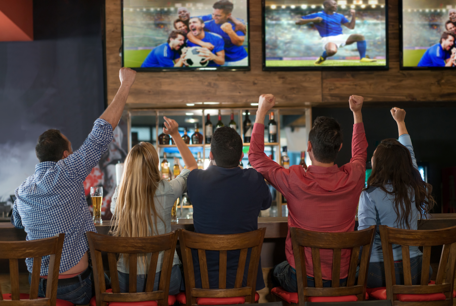 When it comes to what you play on your bar or restaurant's TV, digital signage and cable aren't your best bet.